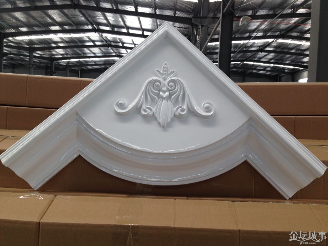 欧式吊顶装修中pu线条跟石膏线条有什么区别